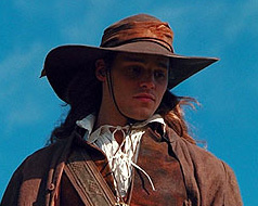 D´Artagnan, the movie's hero musketeer.