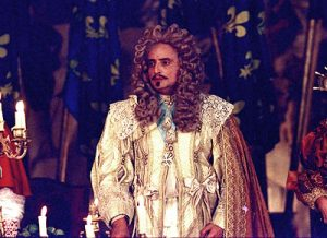 King Louis XIII in the movie